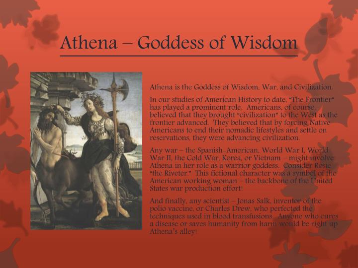 Athena – Goddess of Wisdom