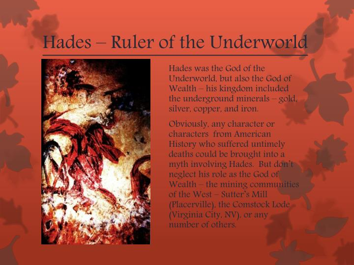 Hades – Ruler of the Underworld