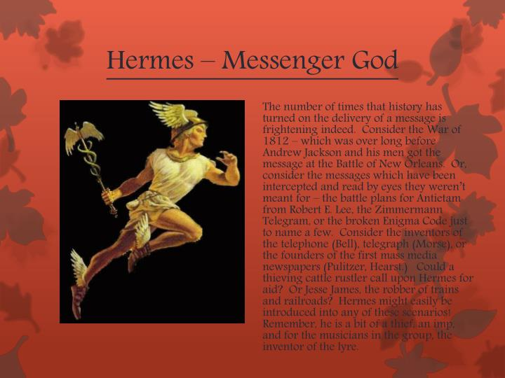 Hermes – Messenger God