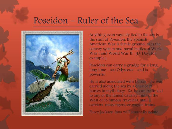 Poseidon – Ruler of the Sea