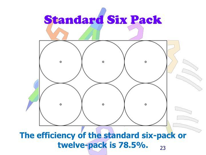 Standard Six Pack