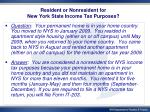 resident or nonresident for new york state income tax purposes2