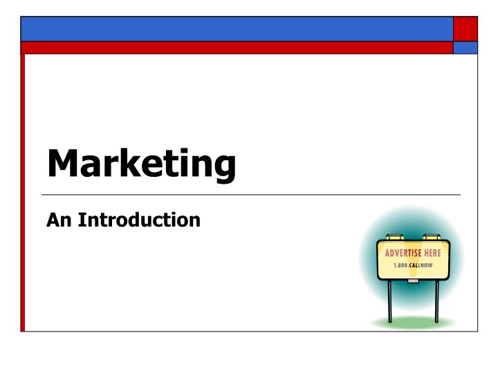service marketing introduction