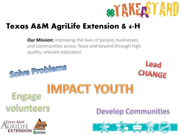 Texas a m agrilife extension 4 h