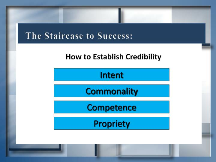 The Staircase to Success: