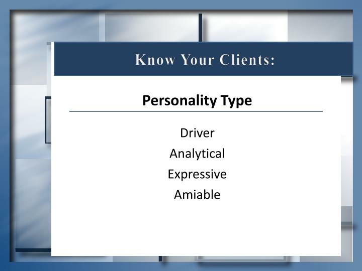 Know Your Clients: