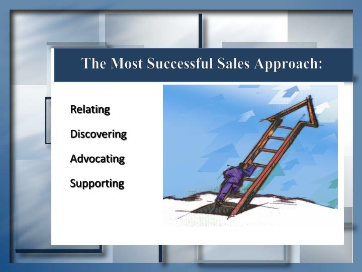 The Most Successful Sales Approach