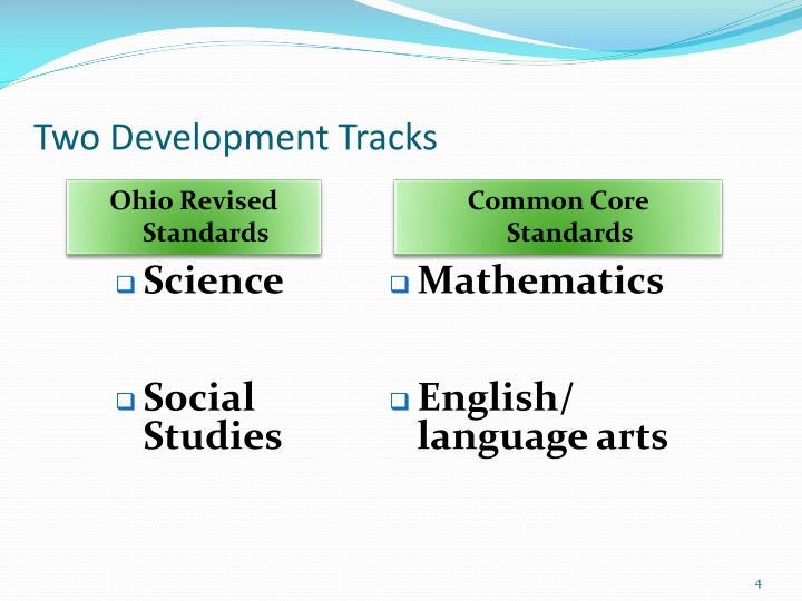 Ohio Revised Standards