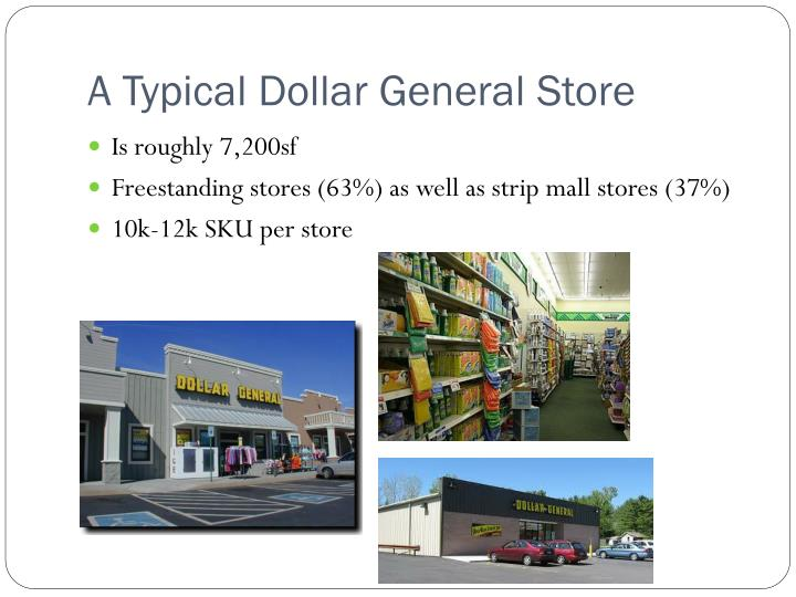 A Typical Dollar General Store