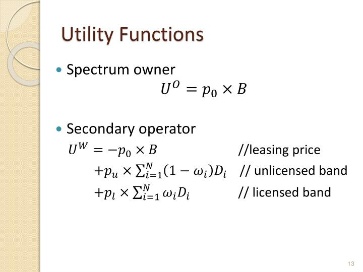 Utility Functions