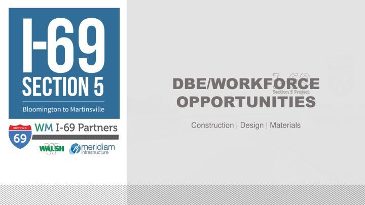 DBE/WORKFORCE