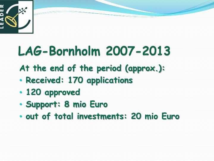 LAG-Bornholm 2007-2013