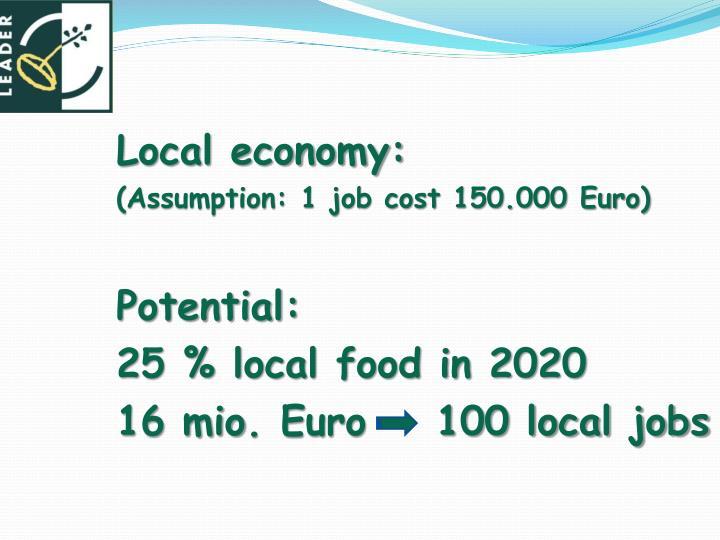 Local economy: