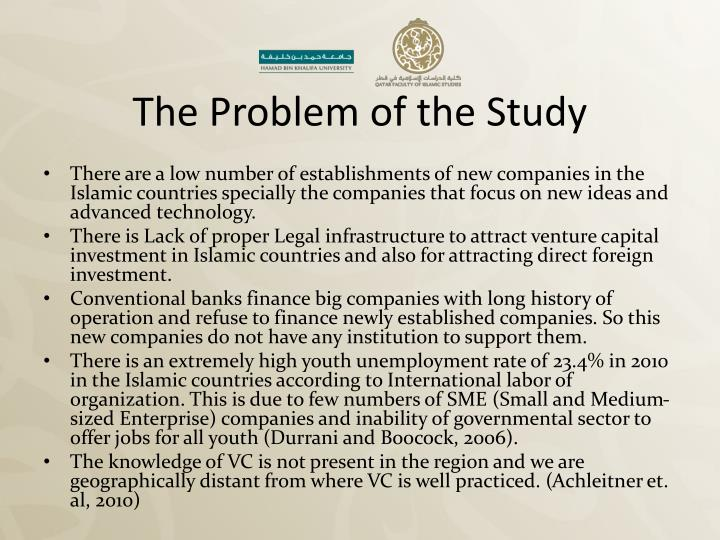 The Problem of the Study