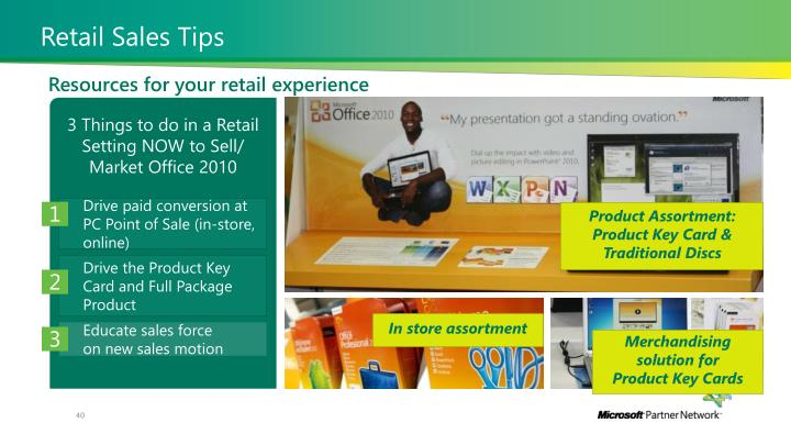 Retail Sales Tips