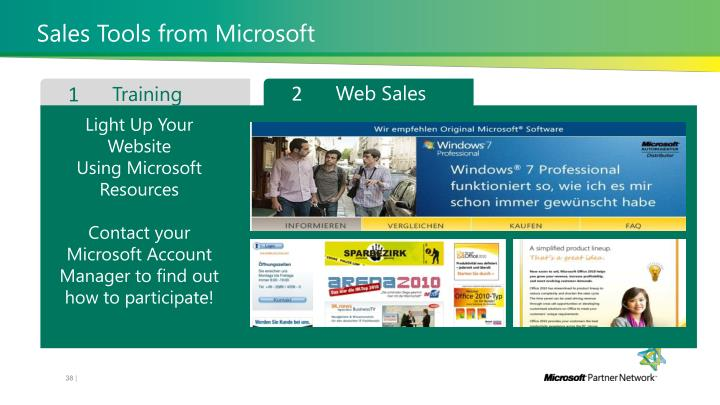 Sales Tools from Microsoft
