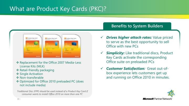 What are Product Key Cards (PKC)?
