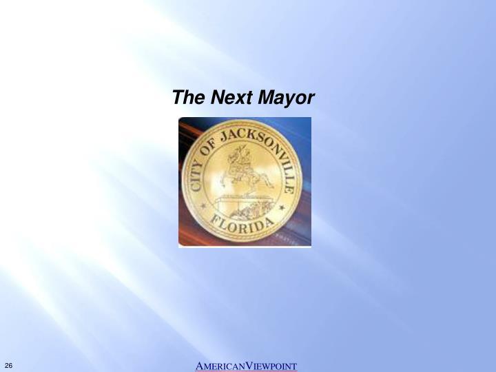 The Next Mayor