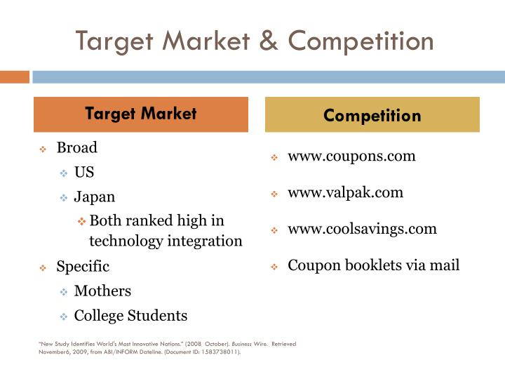 Target Market & Competition