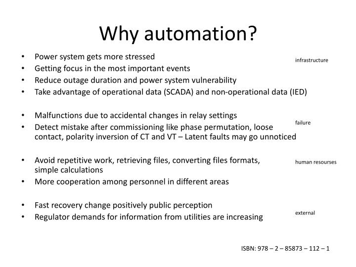 Why automation?