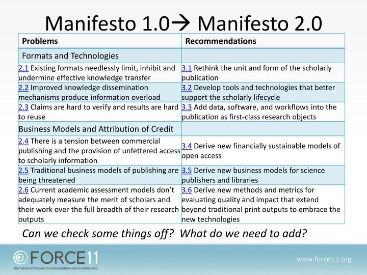 Manifesto 1.0