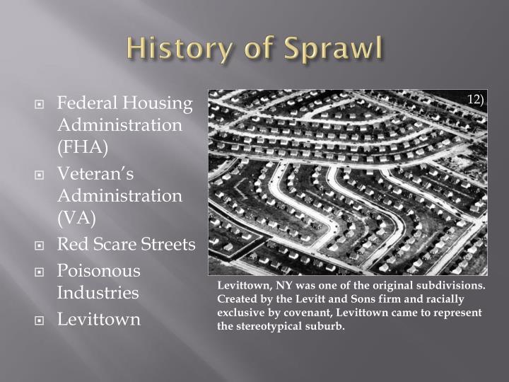 History of Sprawl