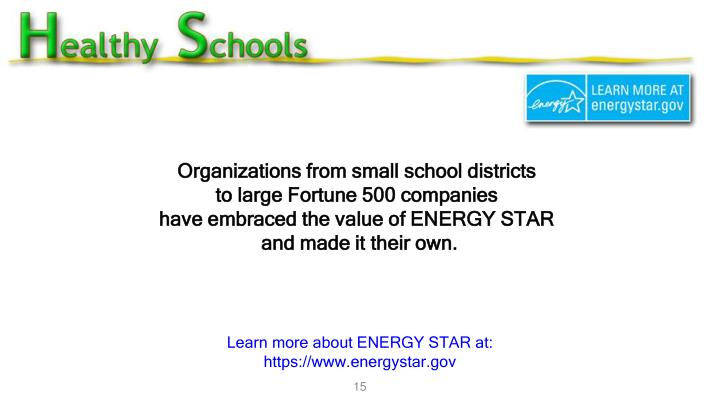 Organizations from small school districts