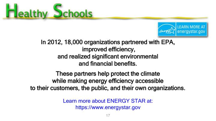 In 2012, 18,000 organizations partnered with EPA,