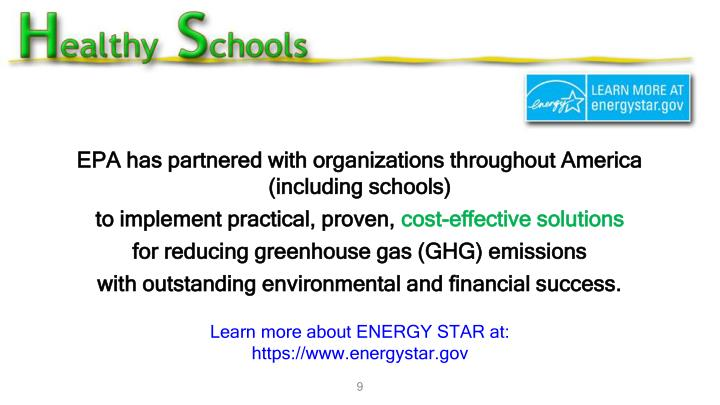 EPA has partnered with organizations throughout America (including schools)