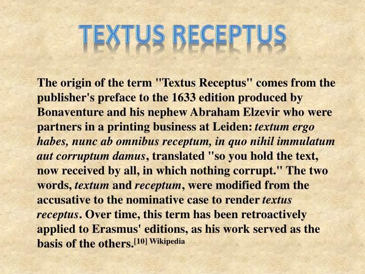 Textus