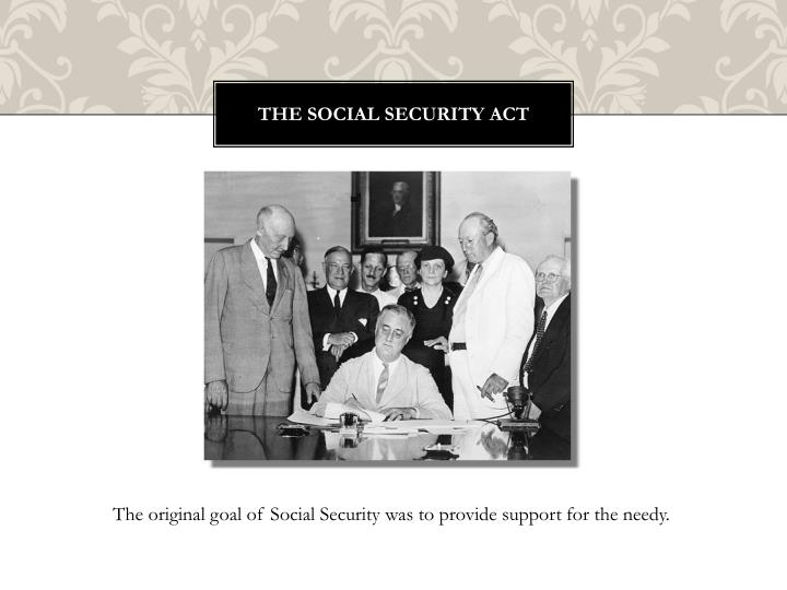 The Social Security