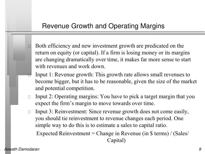 Revenue Growth and Operating Margins