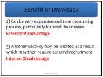 benefit or drawback2