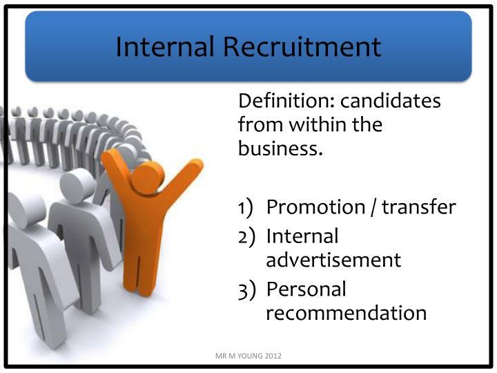 Internal Recruitment