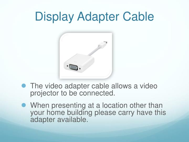 Display Adapter Cable