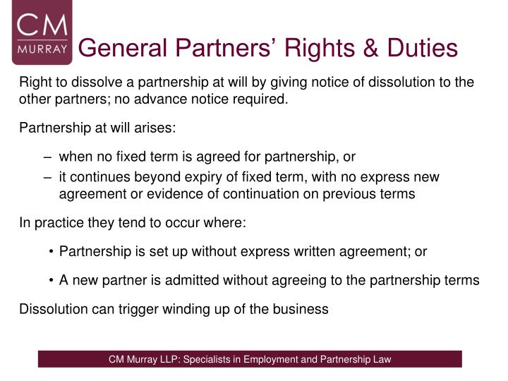 General Partners'