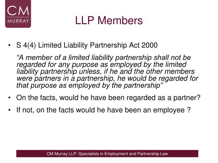 LLP Members