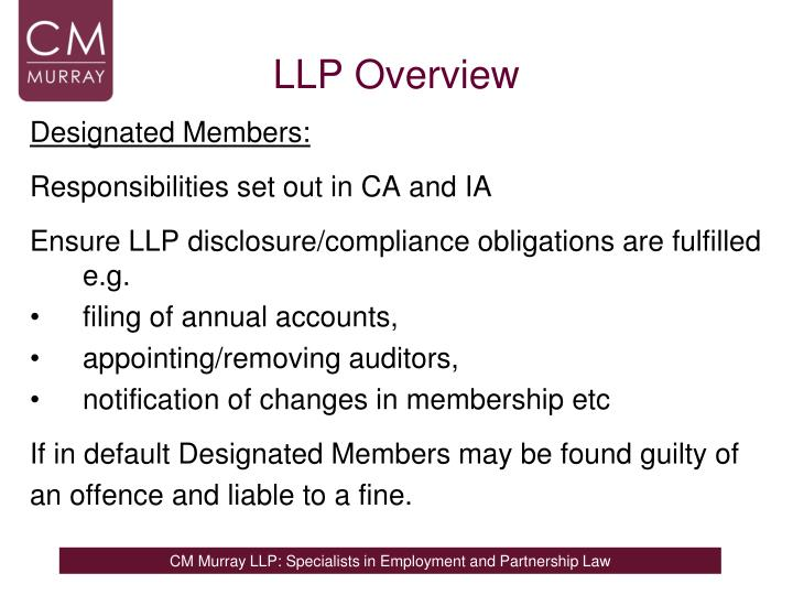 LLP Overview