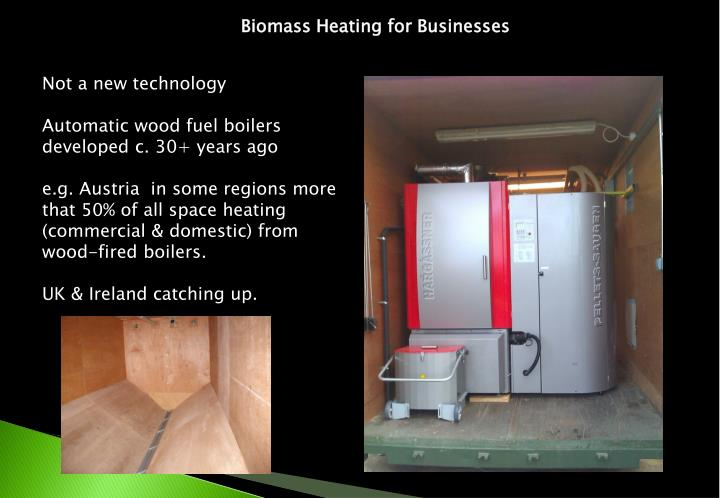 Biomass Heating for Businesses