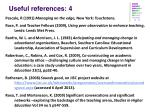 useful references 4