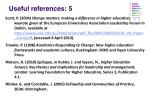 useful references 5