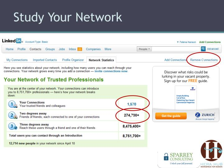 Study Your Network