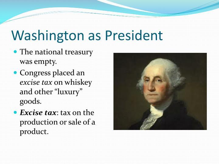 Washington as President