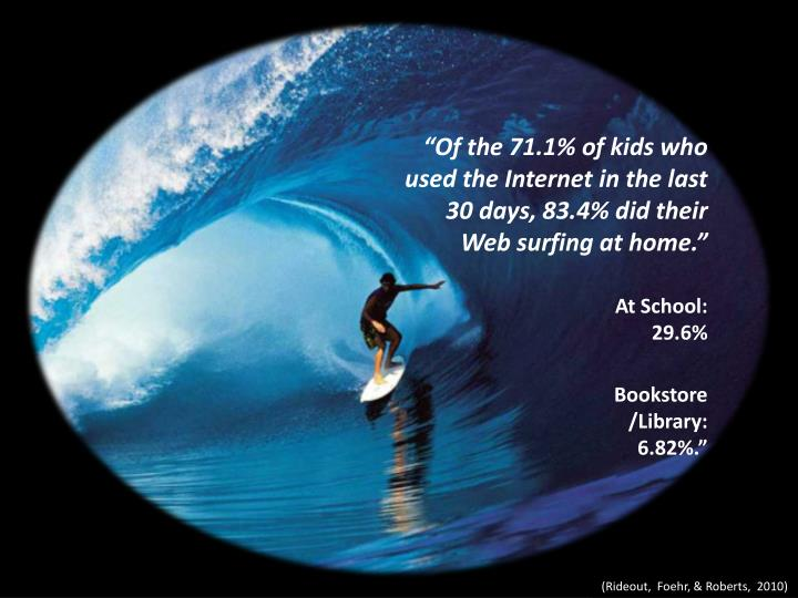 """""""Of the 71.1% of kids who"""