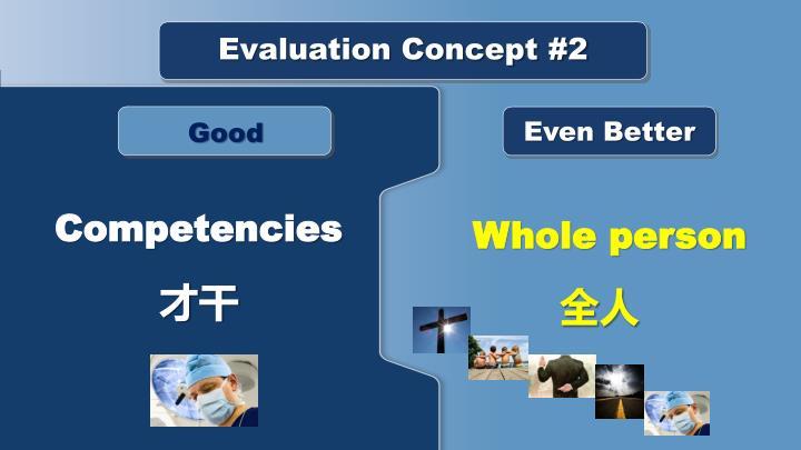 Evaluation Concept #2