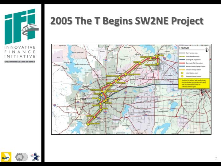 2005 The T Begins SW2NE Project