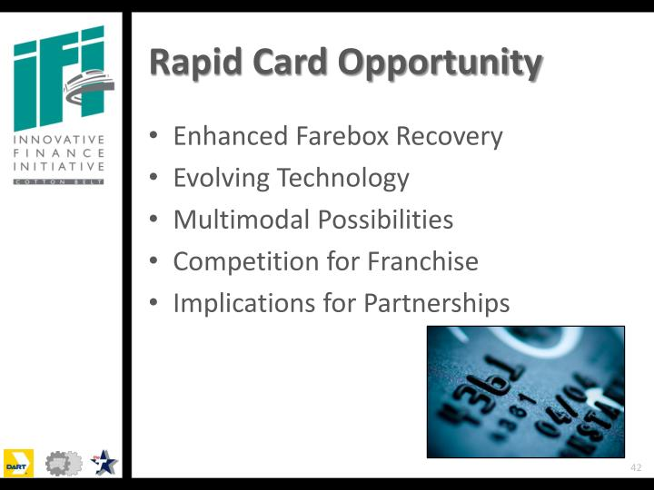 Rapid Card Opportunity