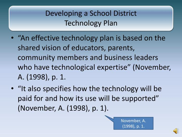 Developing a School District