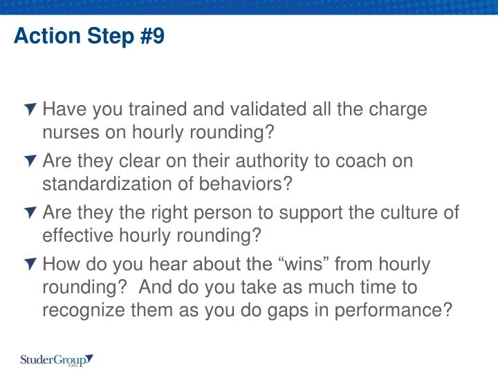 Action Step #9