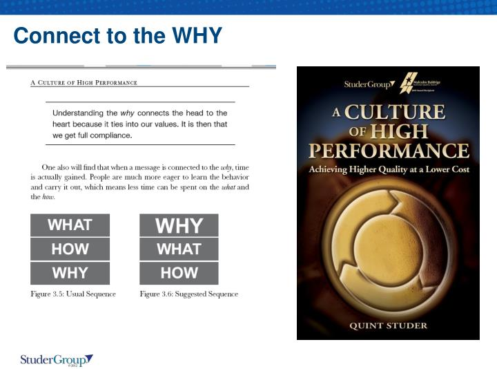 Connect to the WHY